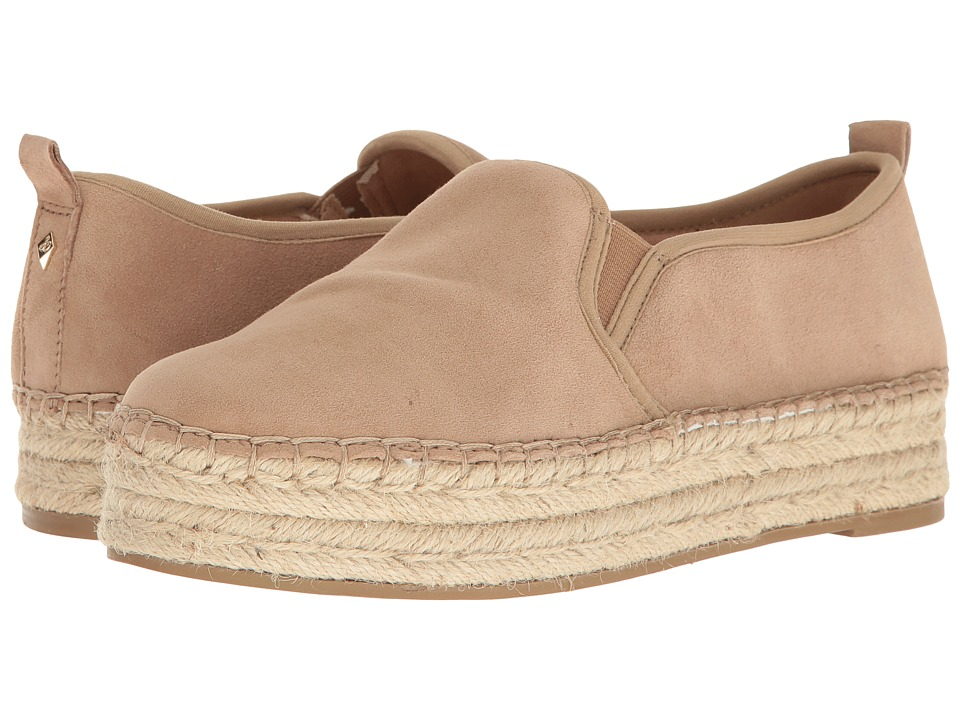 Sam Edelman Carrin (Oatmeal Kid Suede Leather) Slip-On Shoes
