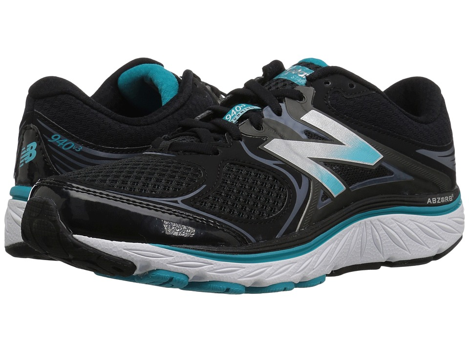New Balance W940v3 (Black/Pisces/Thunder) Women's Running Shoes