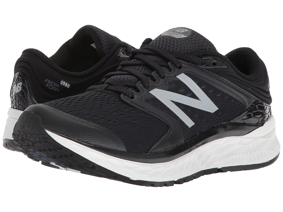 New Balance Fresh Foam 1080v8 (Black/White) Women's Running Shoes