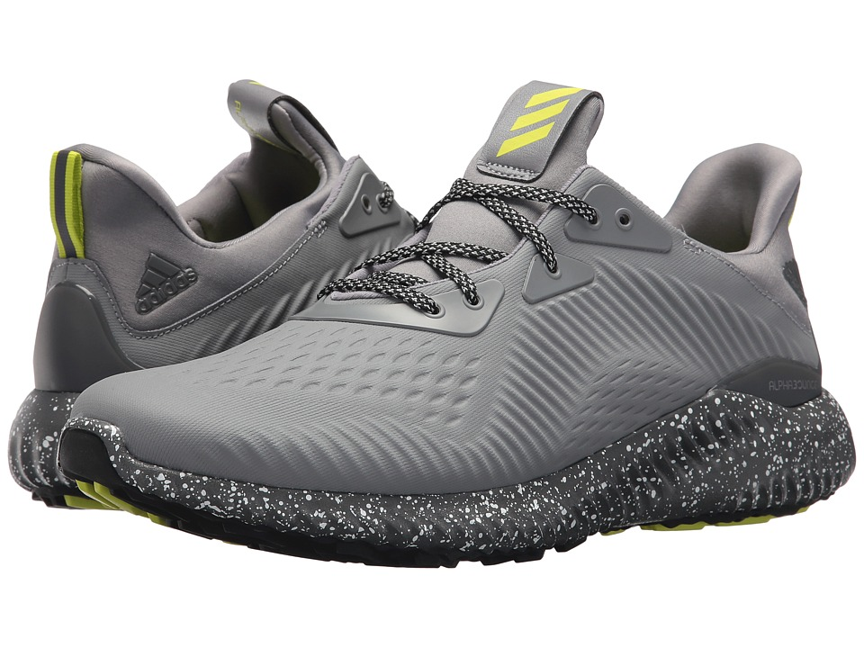 adidas Running - Alphabounce EM Coated (Grey 3/Grey 5/White) Mens Running Shoes