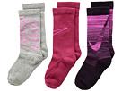 Nike Kids Performance Cushion 3-Pair Socks (Little Kid/Big Kid)