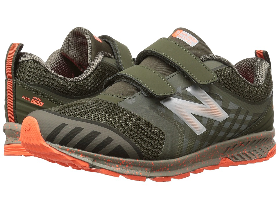New Balance Kids KENTRv3Y (Little Kid/Big Kid) (Olive/Green) Boys Shoes