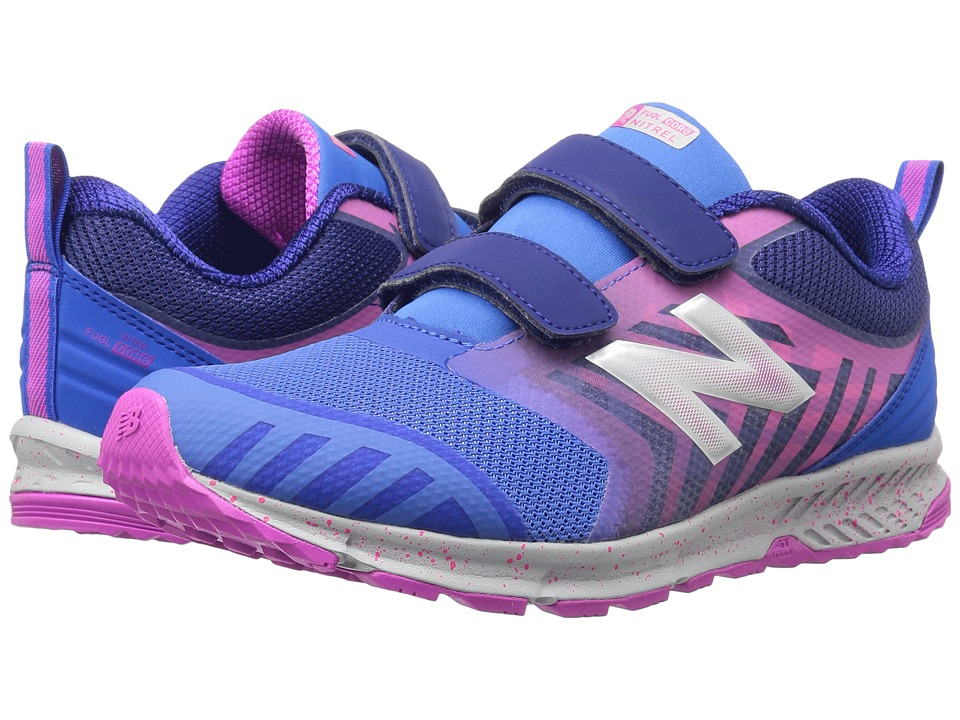 New Balance Kids KENTRv3Y (Little Kid/Big Kid) (Blue/Pink) Girls Shoes