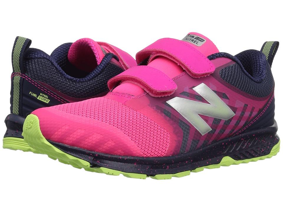 New Balance Kids KENTRv3Y (Little Kid/Big Kid) (Pink/Grey) Girls Shoes