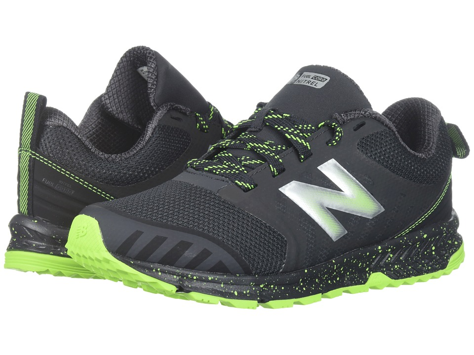 New Balance Kids FuelCore NITREL (Little Kid/Big Kid) (Grey/Black) Boys Shoes