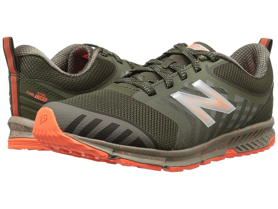 New Balance Kids FuelCore NITREL (Little Kid/Big Kid) (Olive/Green) Boys Shoes