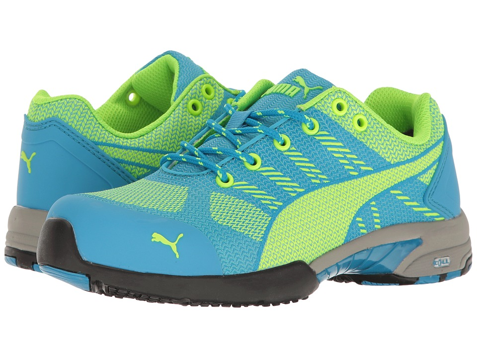 PUMA Safety Celerity Knit SD (Blue) Women