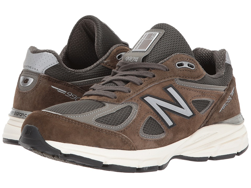 New Balance W990v4 (Military Green/Military Green) Women's Running Shoes