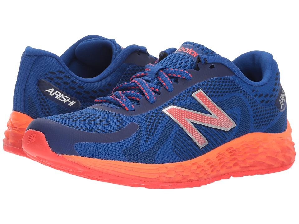 New Balance Kids KJARIv1Y (Little Kid/Big Kid) (Team Royal/Energy Red) Boys Shoes