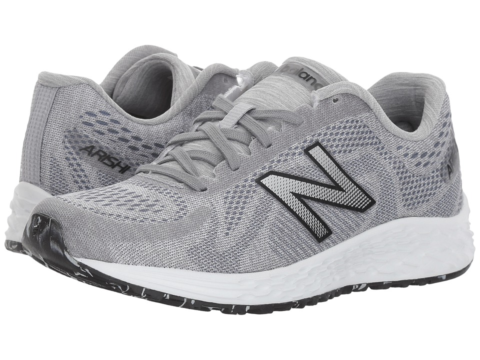 New Balance Kids KJARIv1Y (Little Kid/Big Kid) (Silver Mink/Black) Kids Shoes