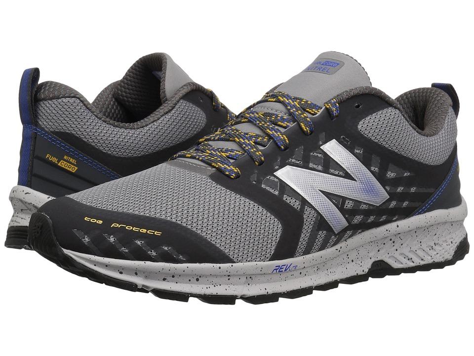 New Balance - Nitrel (Team Away Grey/Vivid Cobalt) Mens Running Shoes