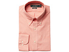 LAUREN Ralph Lauren Classic Fit Non Iron Gingham Plaid Button Down Collar Dress Shirt