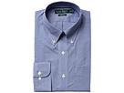 LAUREN Ralph Lauren Classic Fit Non Iron Gingham Plaid Button Down Collar Dress Shirt