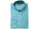 LAUREN Ralph Lauren LAUREN Ralph Lauren Slim Fit Non Iron Broadcloth Plaid Button Down Collar Dress Shirt