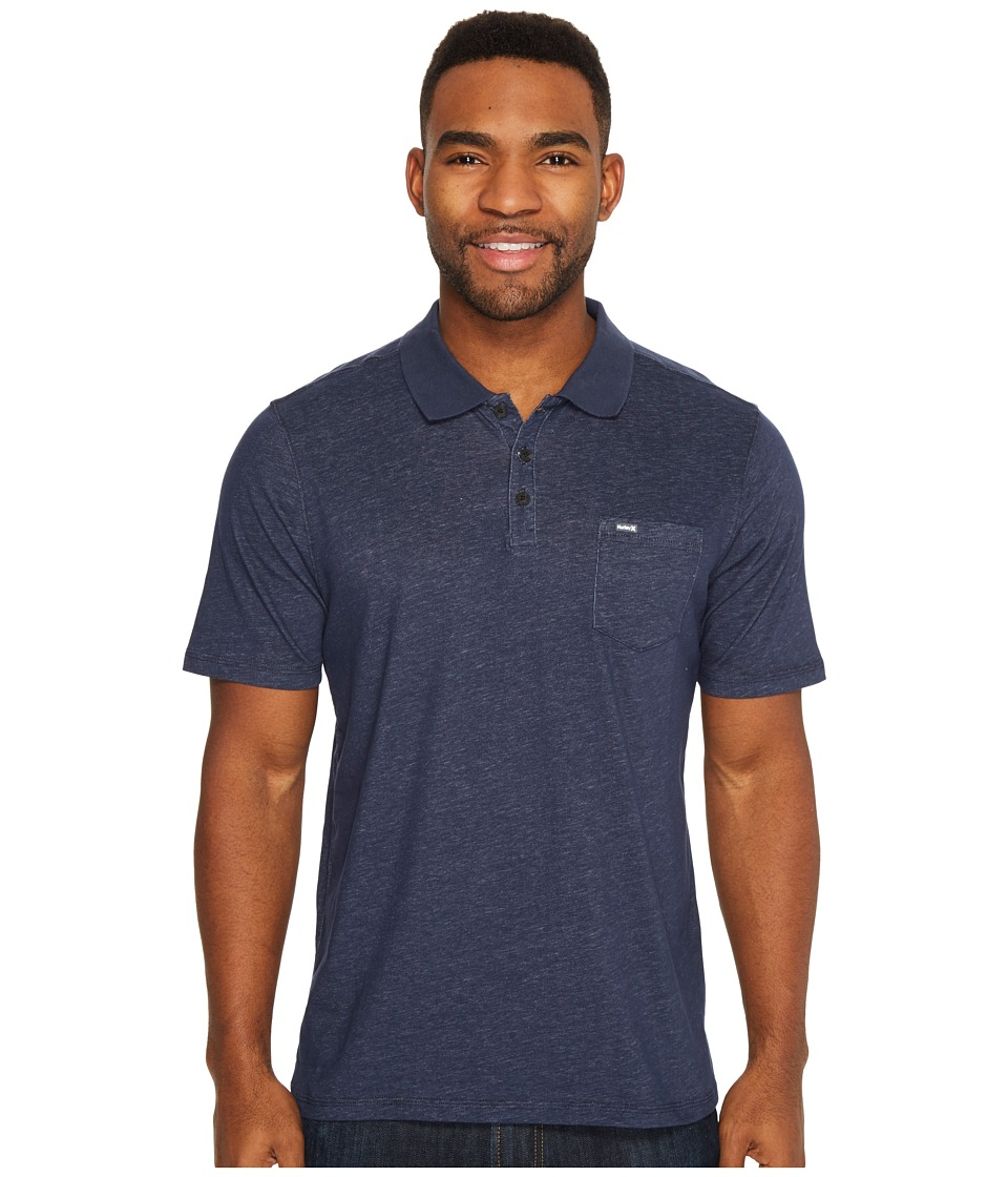 Hurley Dri-Fit Lagos Polo (Obsidian 2) Men's Clothing