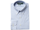 LAUREN Ralph Lauren Classic Fit Non Iron Poplin Plaid Button Down Collar Dress Shirt