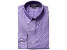 LAUREN Ralph Lauren LAUREN Ralph Lauren - Slim Fit Non Iron Poplin Mini Paisley Print Spread Collar Dress Shirt