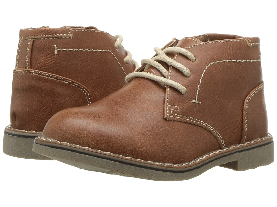 Steve Madden Kids Tchuka (Toddler/Little Kid/Big Kid) (Cognac) Boys Shoes
