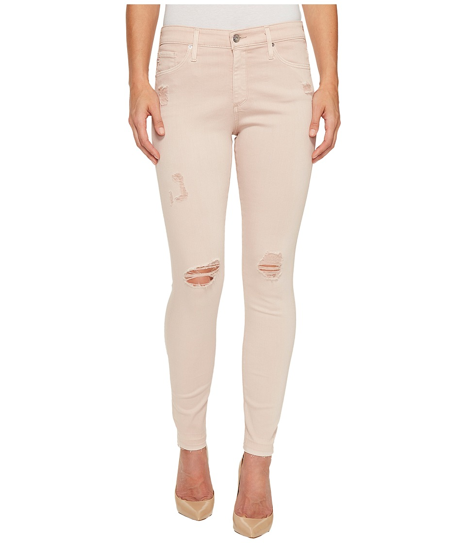 AG Adriano Goldschmied - Farrah Skinny Ankle in Interstellar Worn/Rose Quartz