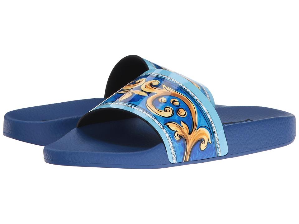 Dolce & Gabbana CW0047 (Blue Floral) Women