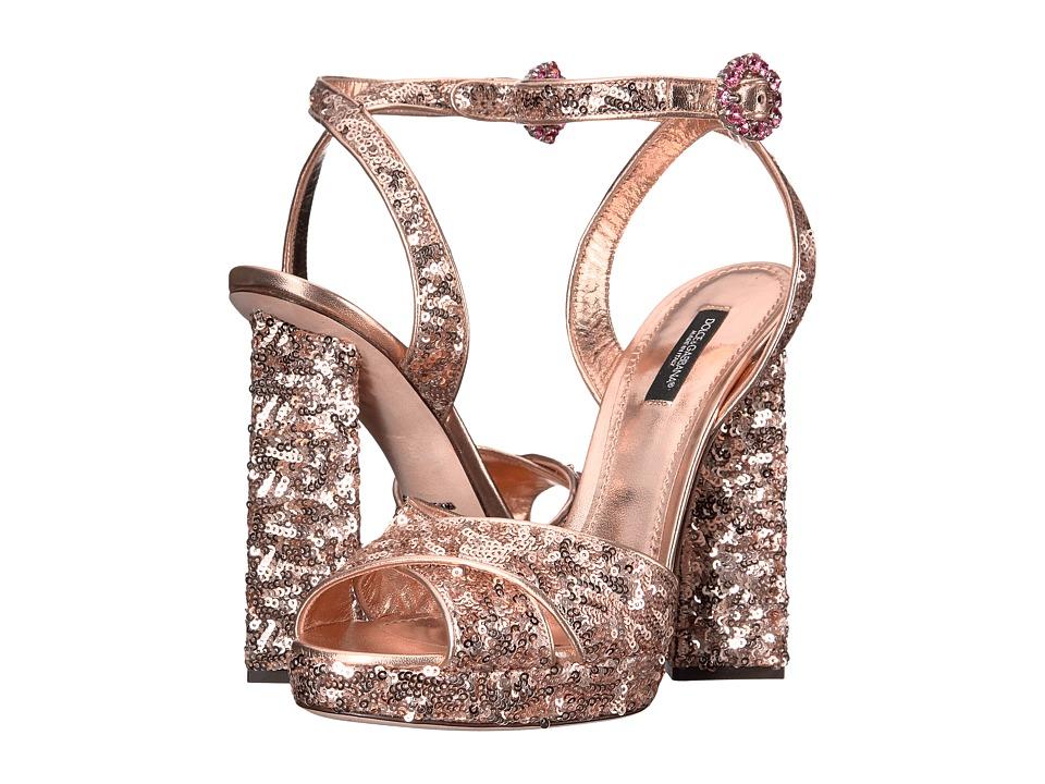 Dolce & Gabbana CR0407 (Salmon) High Heels
