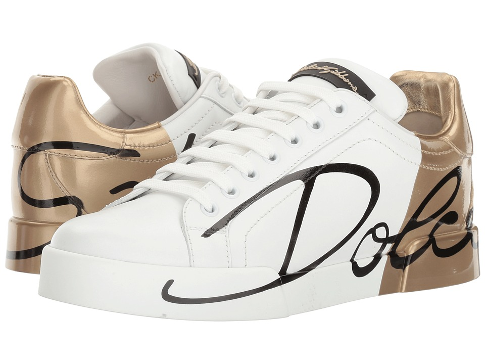 Dolce & Gabbana CK0124 (White/Gold) Women