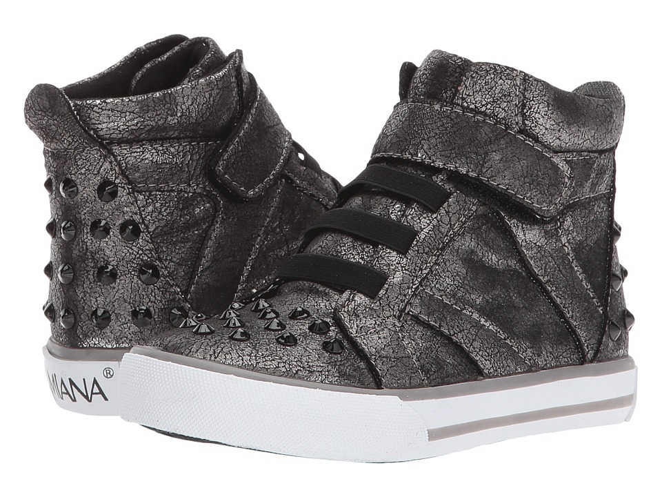 Image of Amiana - 15-A5407 (Toddler/Little Kid/Big Kid/Adult) (Pewter Smoke Metallic) Girl's Shoes