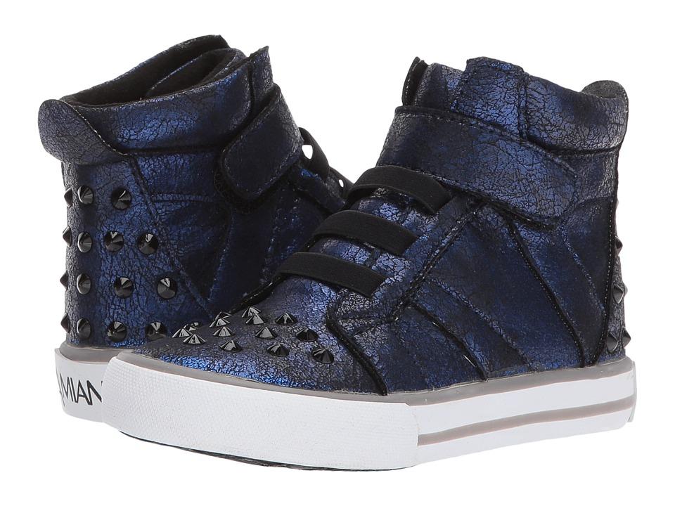 Image of Amiana - 15-A5407 (Toddler/Little Kid/Big Kid/Adult) (Blue Smoke Metallic) Girl's Shoes
