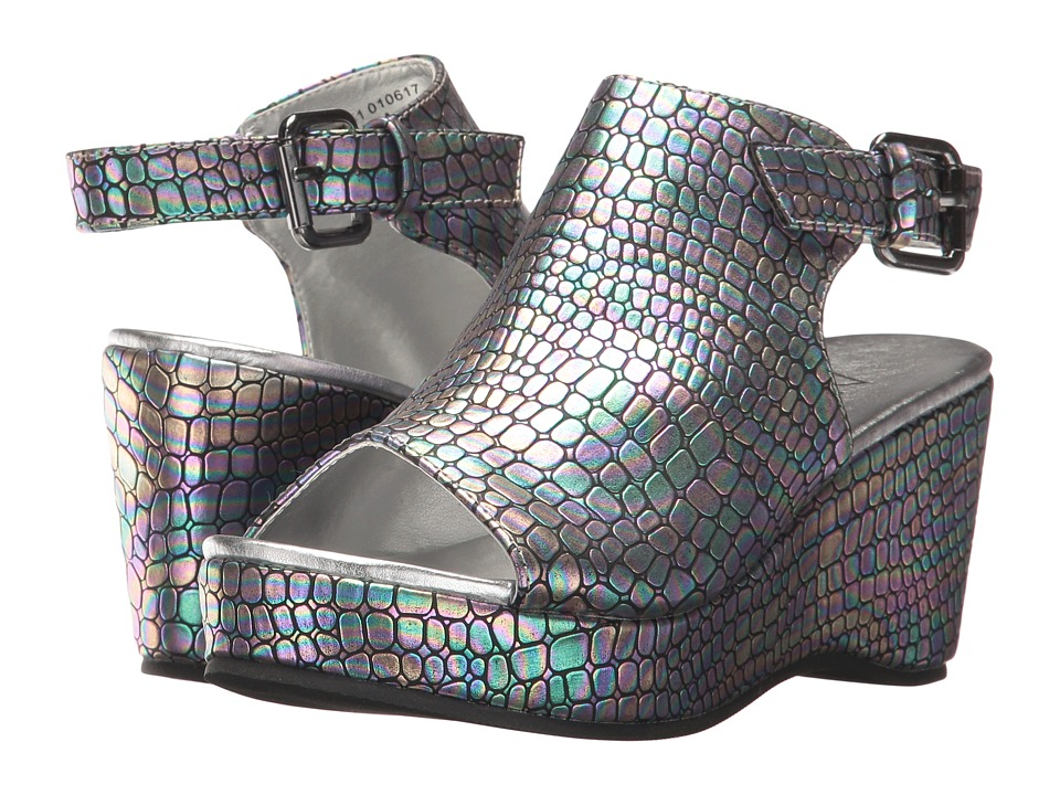 Image of Amiana - 15-A5441 (Little Kid/Big Kid/Adult) (Irri Cajun Pewter) Girl's Shoes