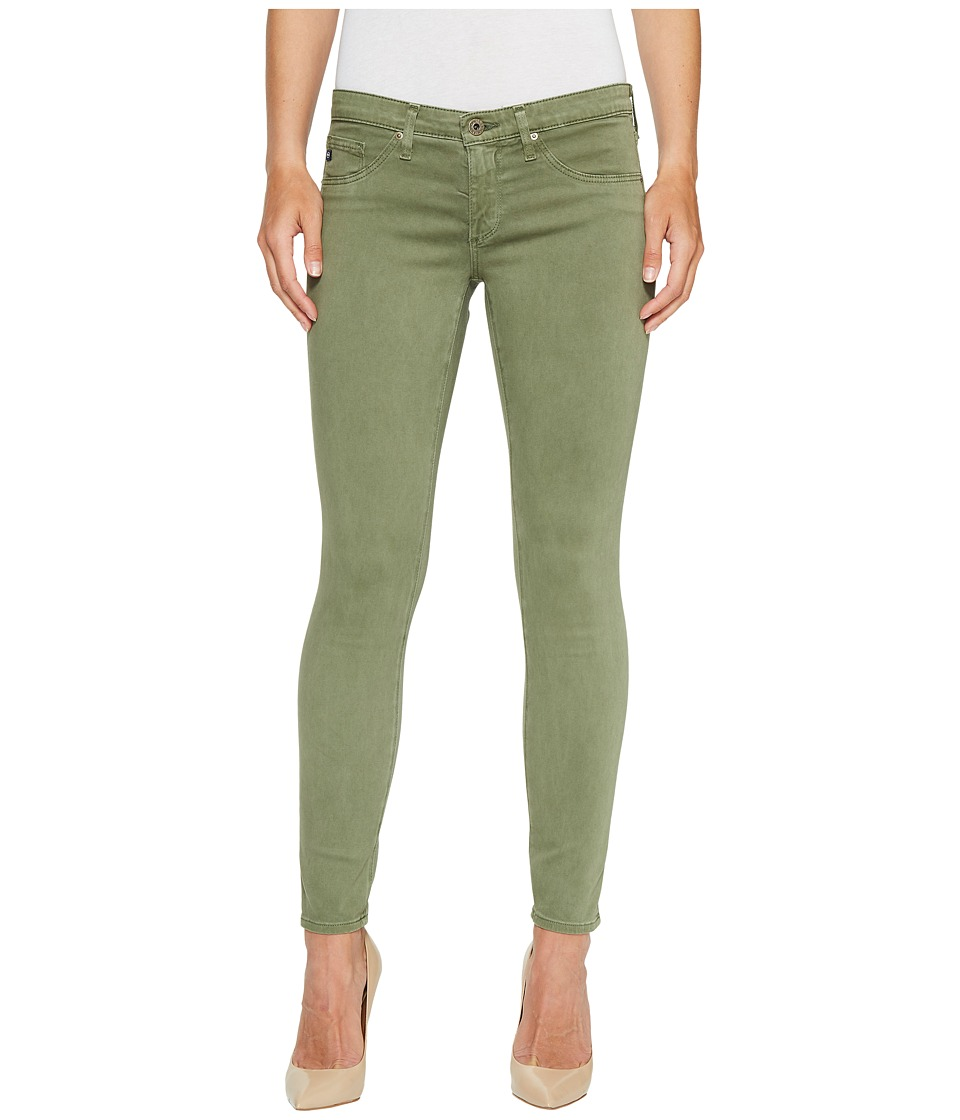 AG Adriano Goldschmied - Leggings Ankle in Sulfur Harvest Olive
