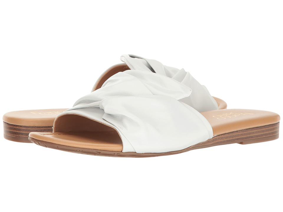 Franco Sarto Gracelynn (White Leather) Women