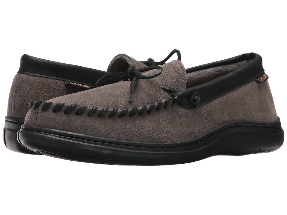 L.B. Evans - Atlin (Gray W/Terry Lining) Mens Slippers