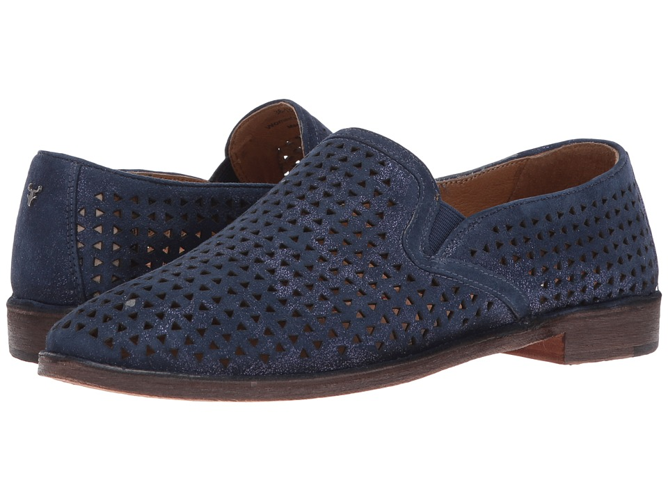 Trask Ali Perf (Navy) Slip-On Shoes