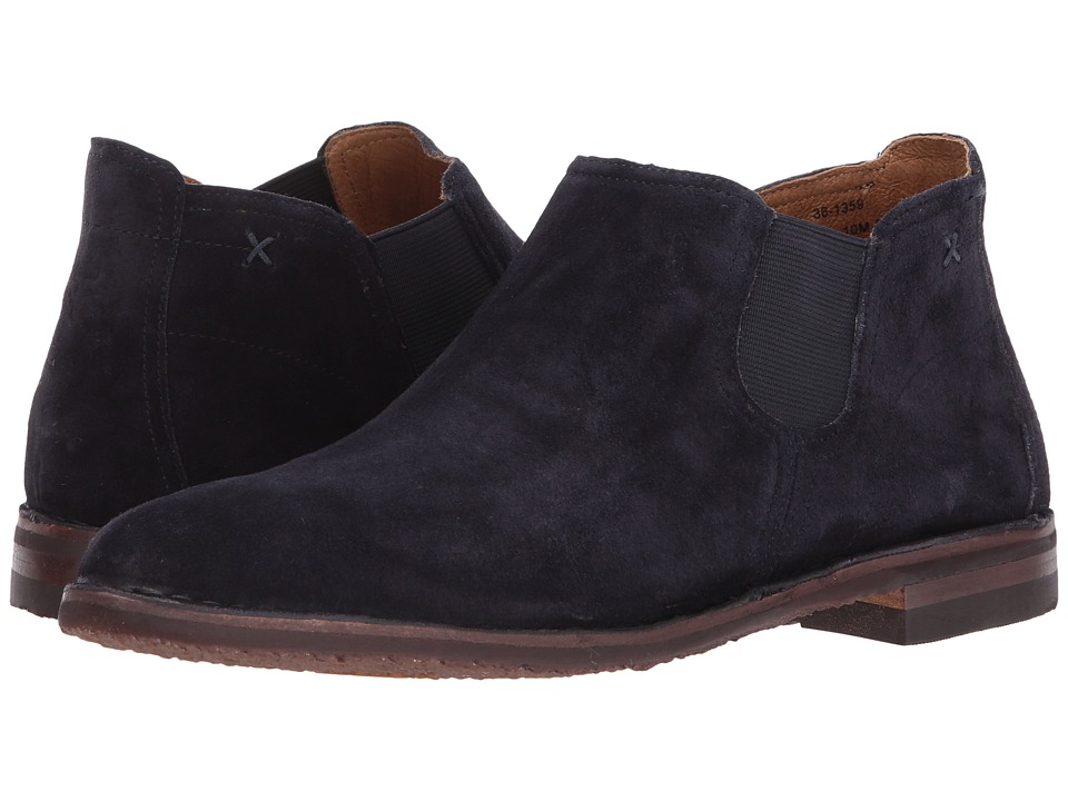 Trask Allison (Navy Suede) Women's Dress Boots