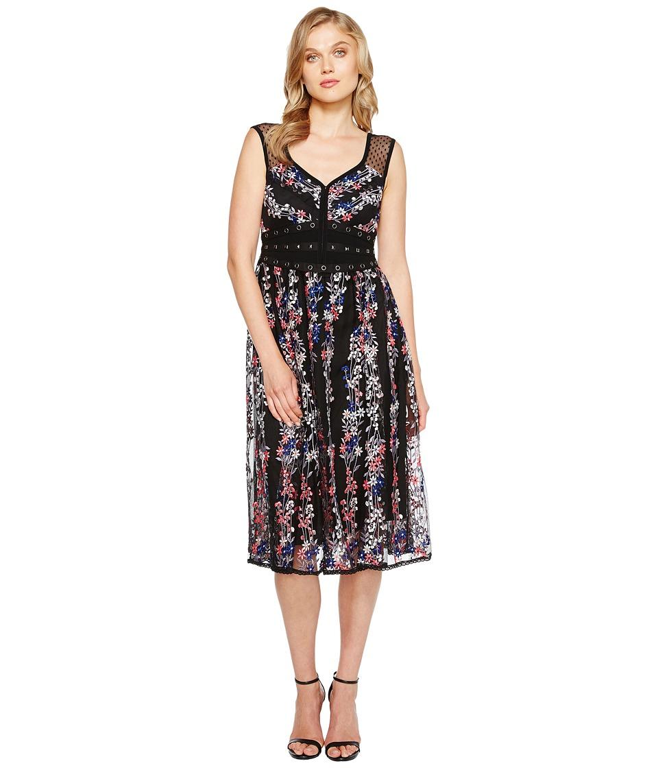 Nanette Lepore Michelle Dress (Black Multi) Women