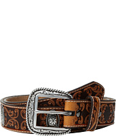 Ariat - Fancy Scroll Embossed Belt