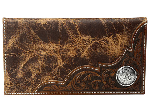 Ariat Rodeo Distressed Wallet - Tan
