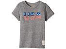 The Original Retro Brand Kids - Stars and Stripes Tri-Blend Short Sleeve USA Tee (Little Kids/Big Kids)