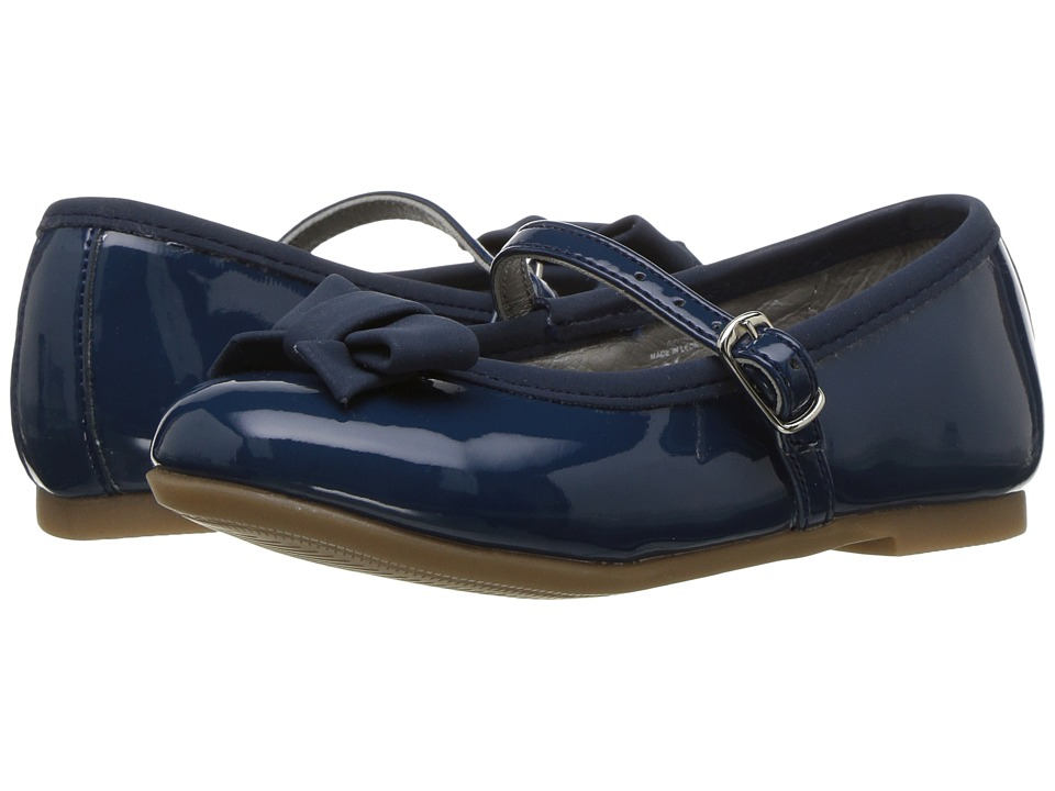 Kid Express Mae (Toddler/Little Kid) (Navy Combo) Girl's Shoes