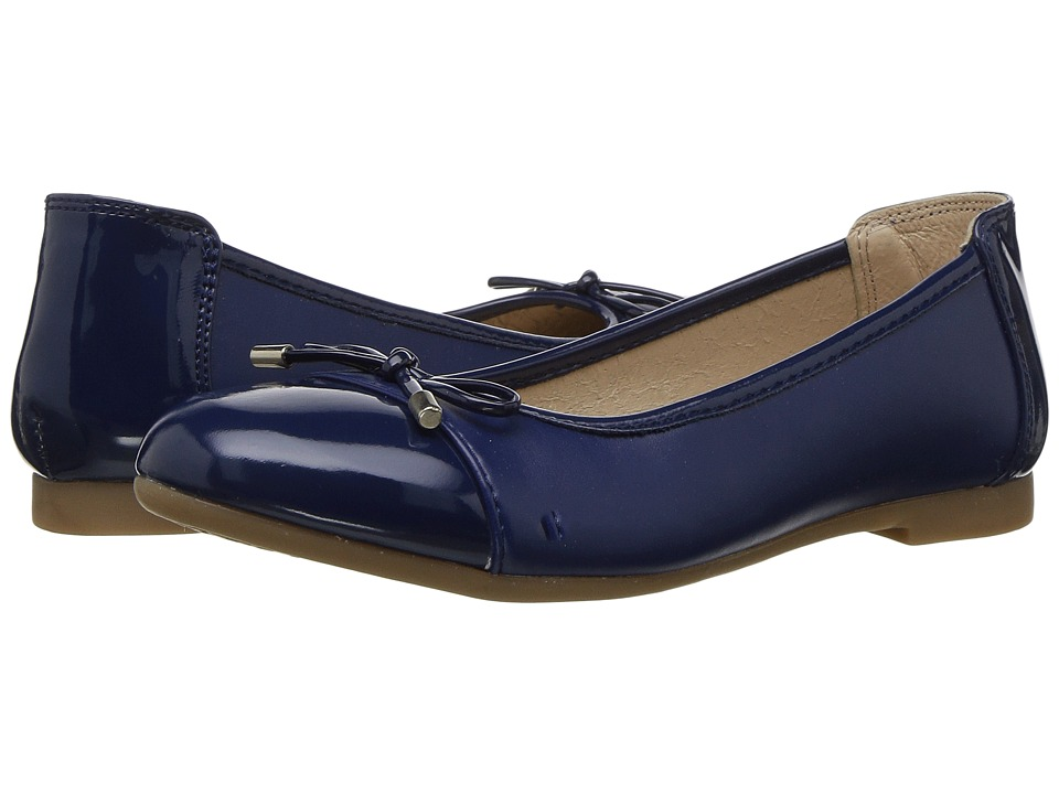 Kid Express Giustina (Toddler/Little Kid/Big Kid) (Navy Combo) Girl's Shoes