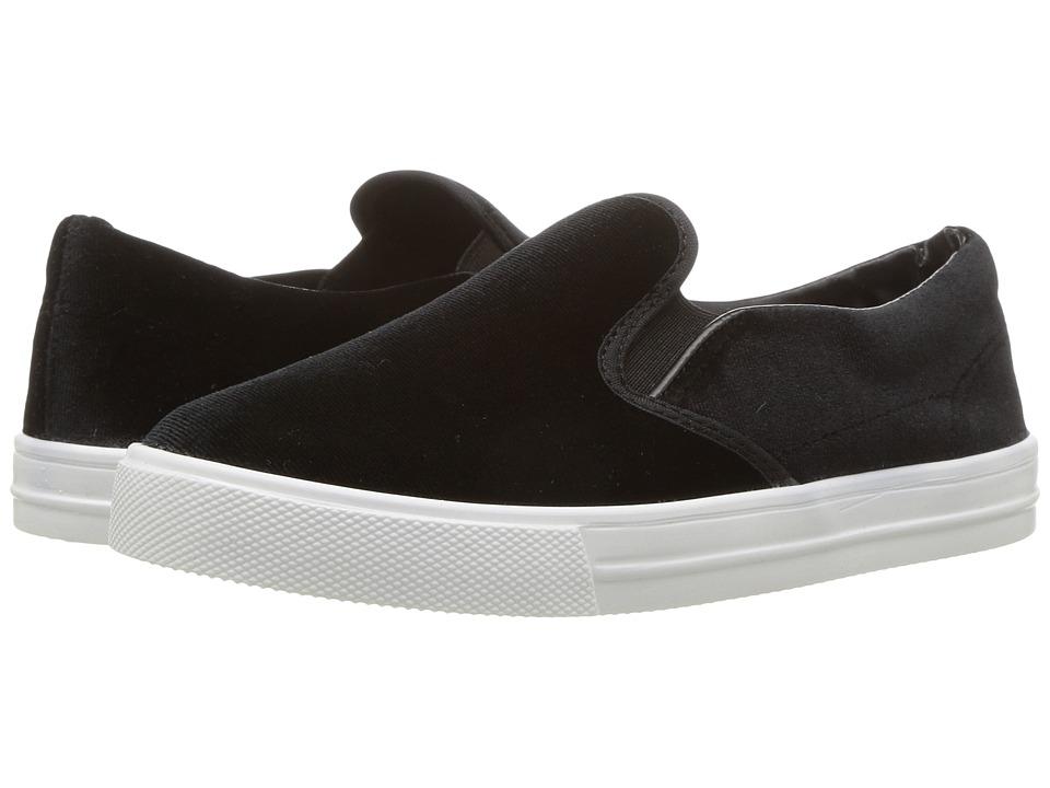 Kid Express Maxine (Toddler/Little Kid/Big Kid) (Black Velvet) Girls Shoes