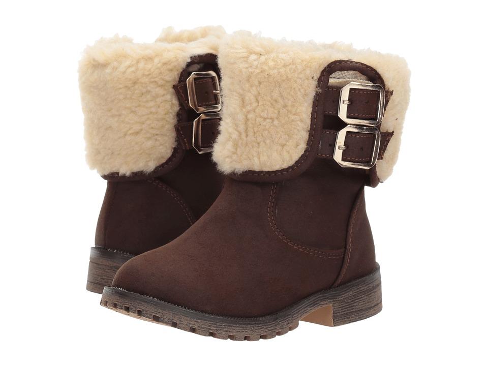 Kid Express Jereth (Toddler/Little Kid/Big Kid) (Dark Brown Combo) Girls Shoes