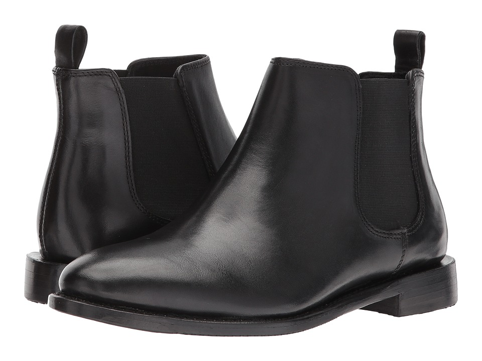 Johnston & Murphy Gabrielle (Black Burnished Leather) Women