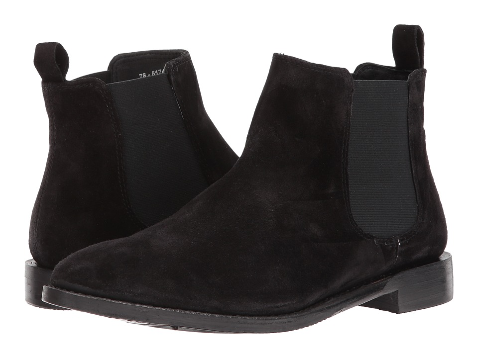 Johnston & Murphy - Gabrielle (Black Suede) Womens Boots