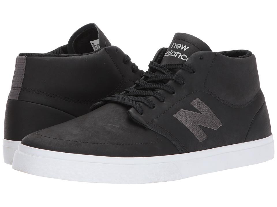 New Balance Numeric - NM346 (Black/Grey) Mens Skate Shoes