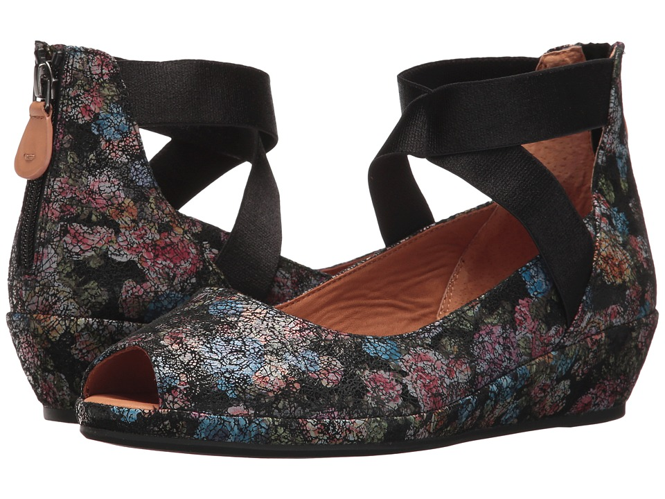 Gentle Souls Lisa (Black/Flower) Women