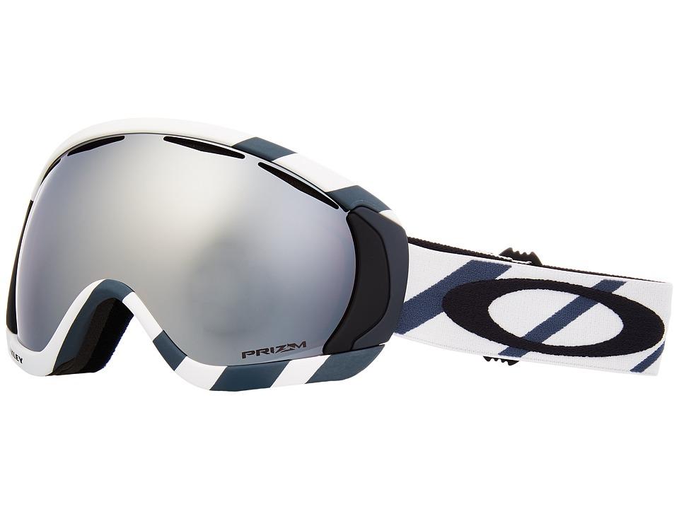 Oakley Canopy (Hazard Bar Slate Ice w/ Prizm Black Iridium) Snow Goggles