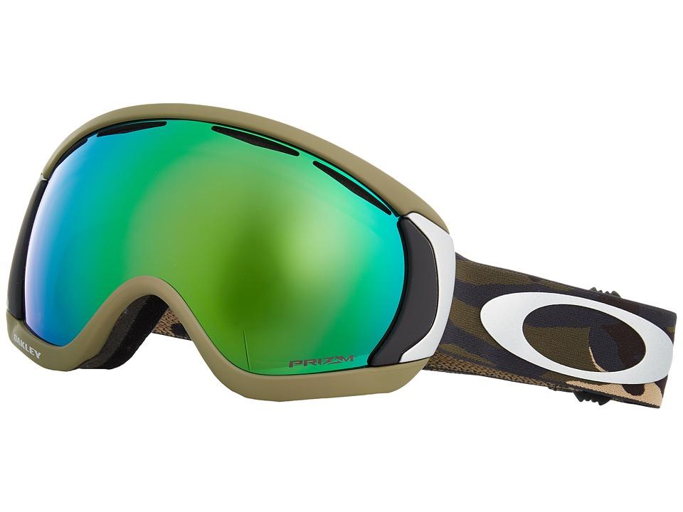 Oakley Canopy (Army Camo w/ Prizm Jade Iridium) Snow Goggles