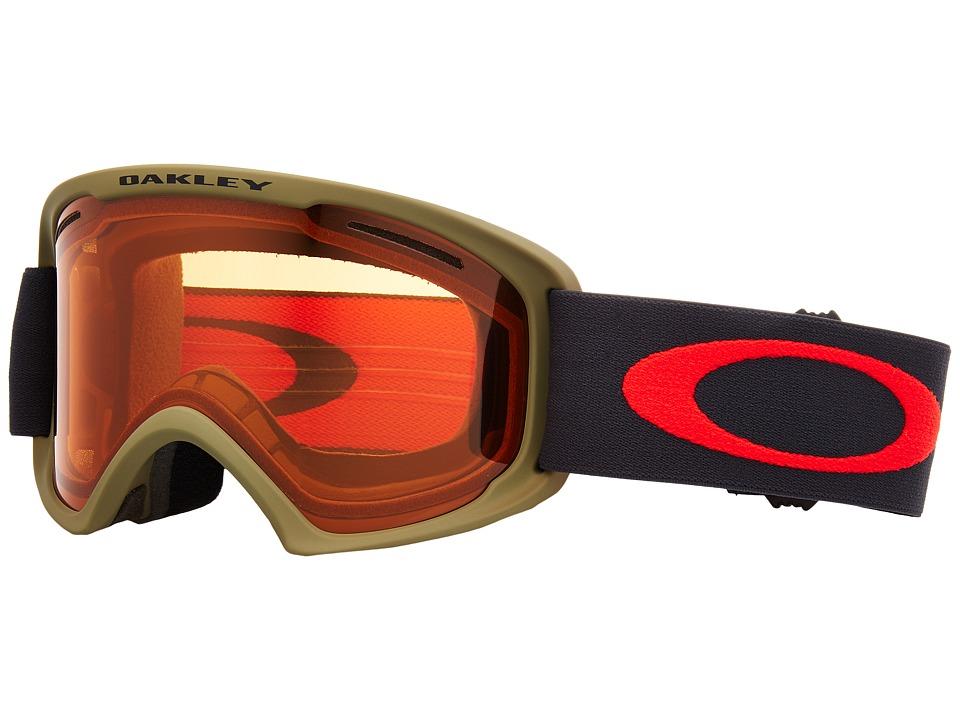 Oakley O Frame 2.0 XL (A) (Canteen Iron w/ Persimmon) Goggles