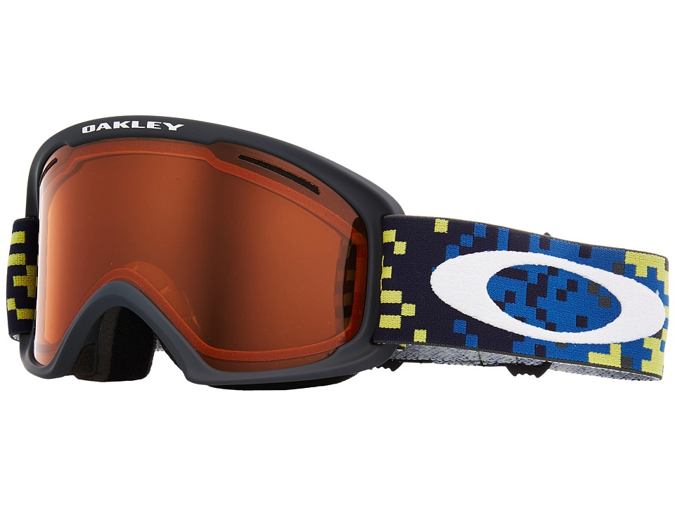 Oakley O Frame 2.0 XL (A) (Pixel Fade Iron Laser w/ Persimmon) Goggles
